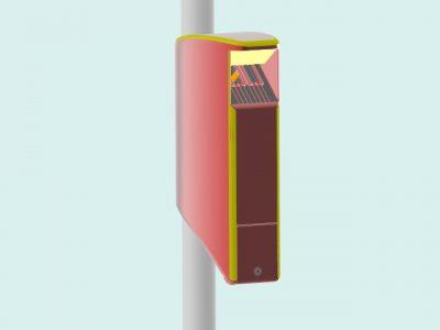LitterBox CAD-model 1