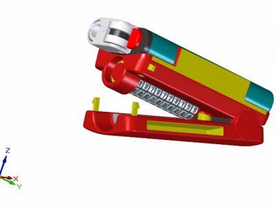 LitterPress CAD-model 1