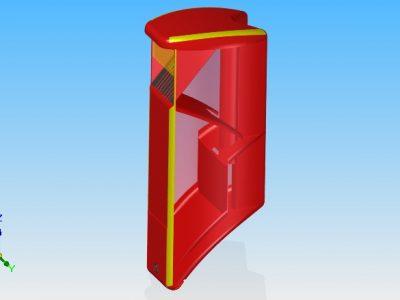 LitterBox CAD-model 1 transparent